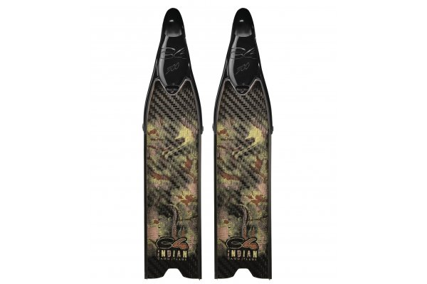 C4 pinna Indian Camo Med con scarpetta 300